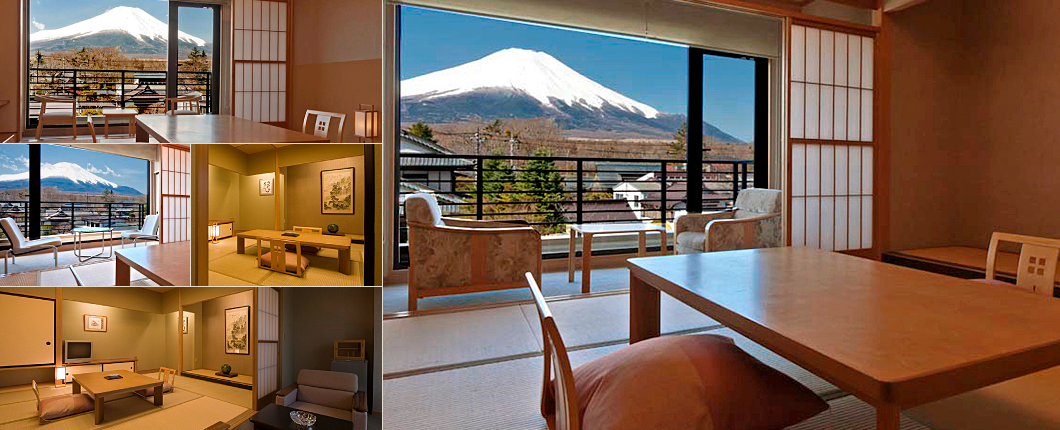 Lake Yamanaka Tagaoogi【official Site】inn Of Mount Fuji And